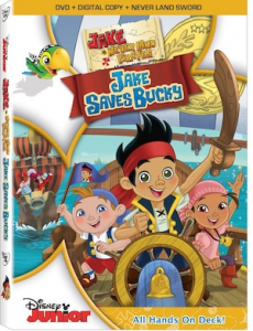 Jake and the Neverland Pirates in Jake Saves Bucky!