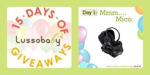 Lussobaby 15 Days of #Giveaways!!! Over $4000 in Prizes!