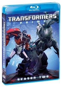 Transformers Prime: Season Two on DVD and Blu-ray Soon!