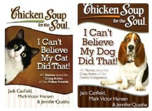 Chicken Soup for the Soul: I can't believe my Cat/Dog did that! {Giveaway}