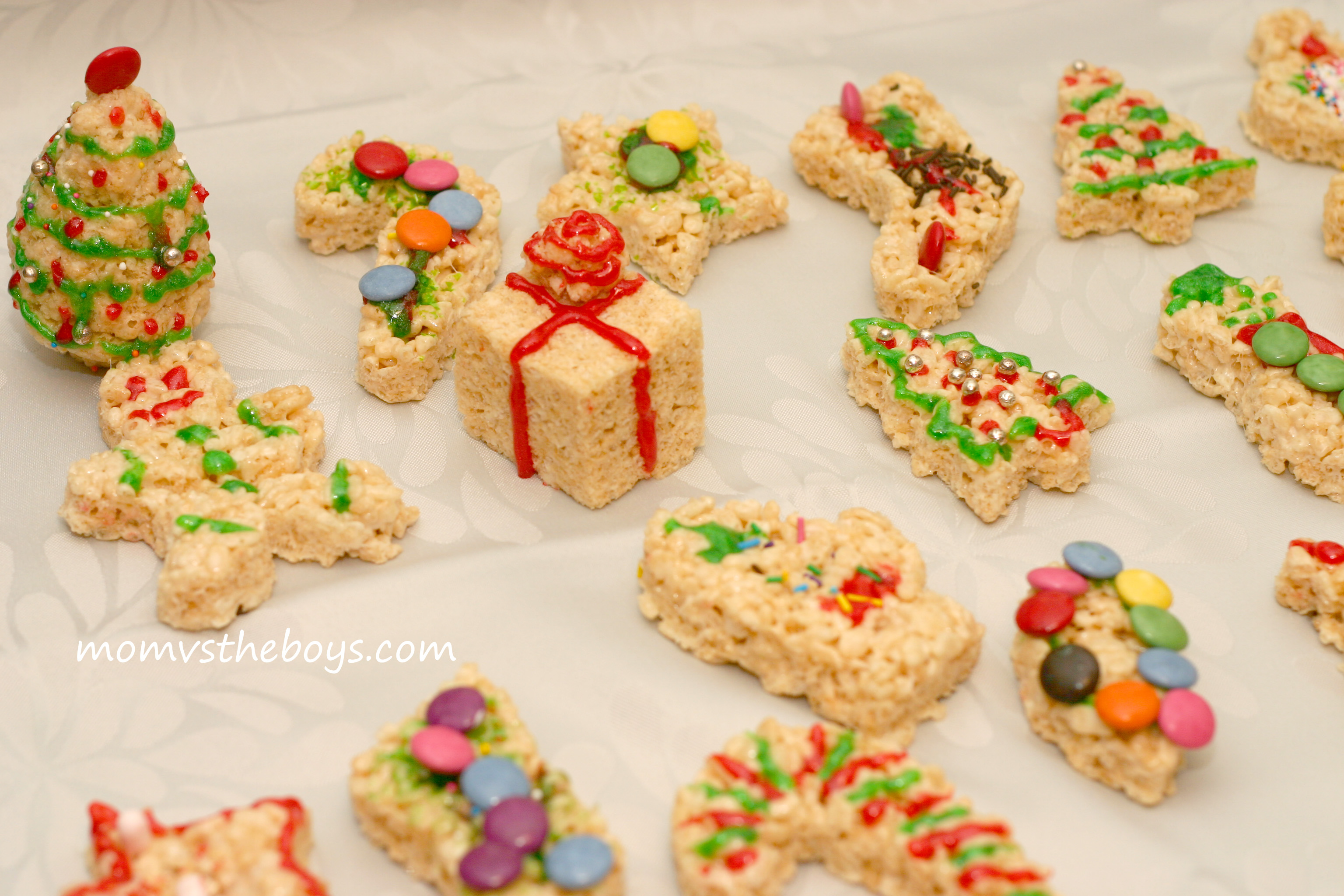 Rice Crispy Treat Christmas.Kellogg S Rice Krispie Holiday Treats
