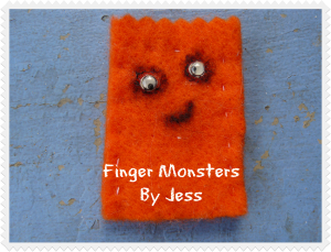 Monster Finger Puppets!