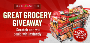 The Great Grocery Giveaway with MarcAngelo! {Giveaway}