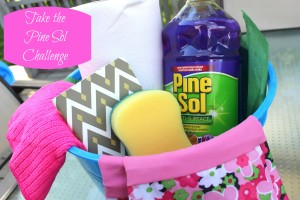 Take the Pine Sol Challenge! {Giveaway}