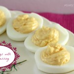 deviled eggs with ranch dressing