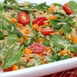 Fire Roasted Tomato-Orzo Salad