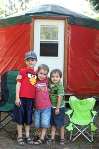 Wordless Wednesday ~ Yurt Camping {Linky}