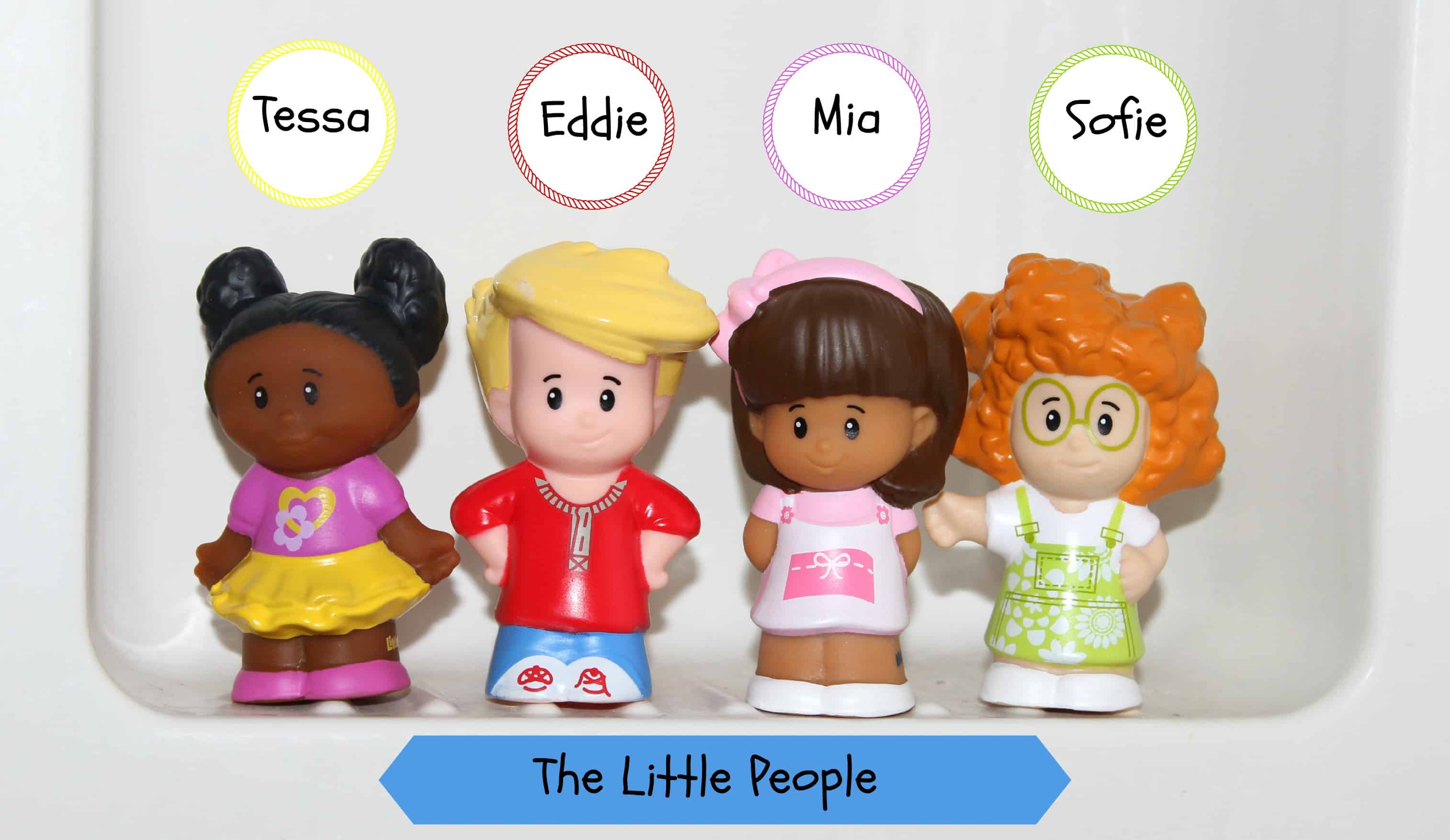 meet the new fisher price little people gang mom vs the. Black Bedroom Furniture Sets. Home Design Ideas