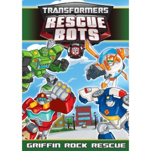 Transformers Rescue Bots: Griffin Rock Rescue now on DVD