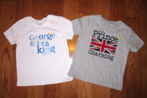 Celebrating all little Princes with Walmart tees for little Boys!