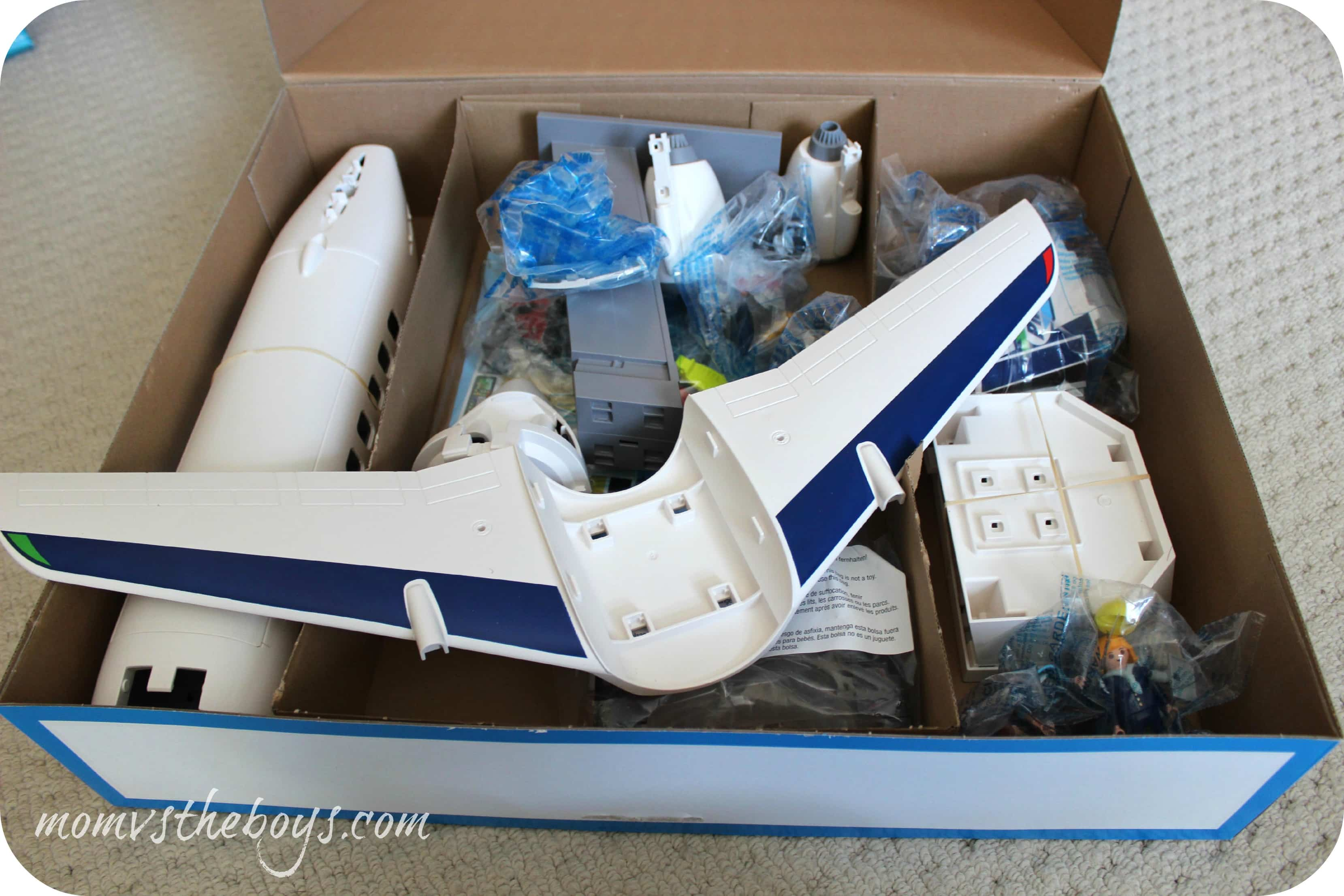 Soar With The Playmobil Cargo And Passenger Aircraft Mom