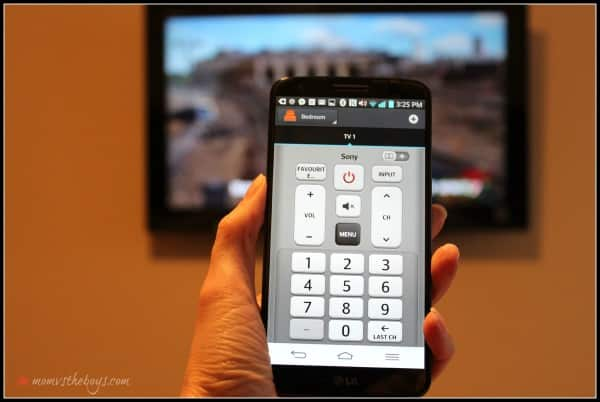 LG G2 remote