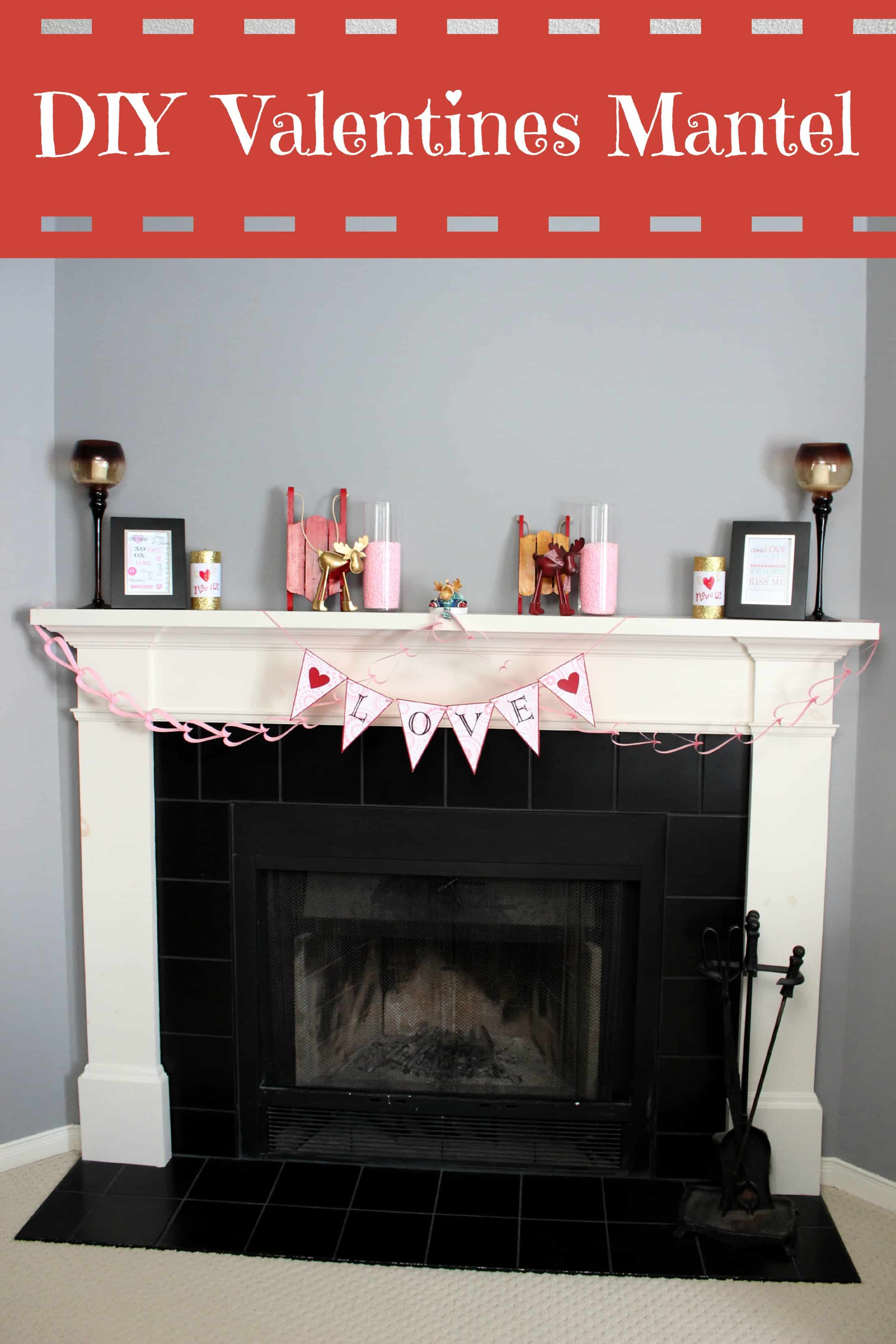 shelf fireplace to tool diy a her how focal plans point mantel about that make create you room belt ve dreaming been