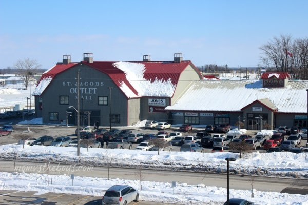 St jacobs outlet mall