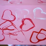 Cookie Cutter Heart Stamping
