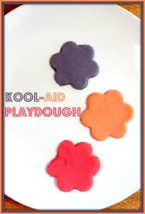 Kool-Aid Playdough