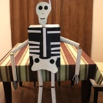 Child Sized Skeleton Craft