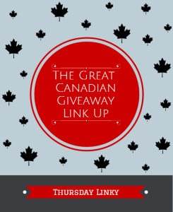 The Great Canadian #Giveaway Link Up