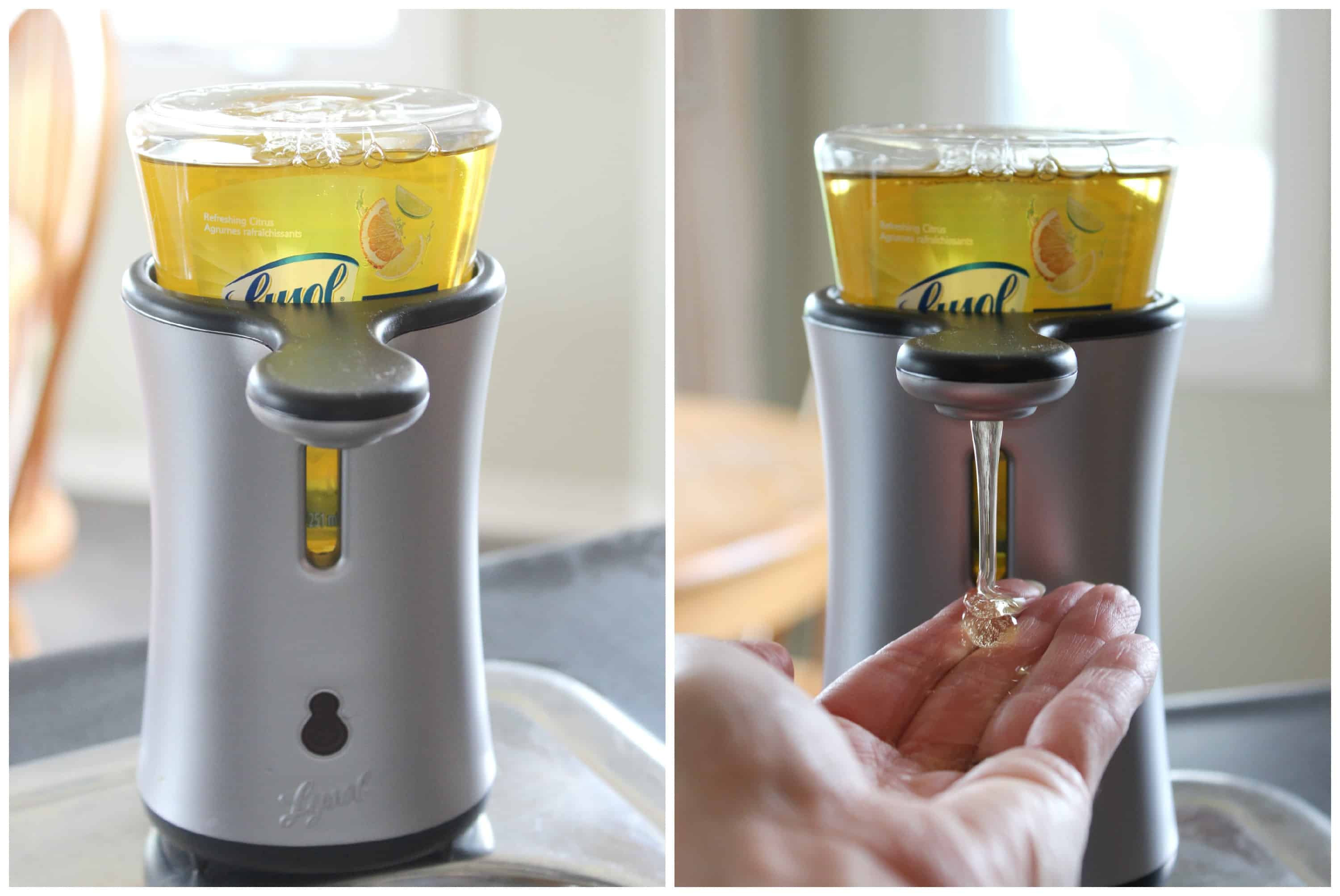 Lysol No Touch Antibacterial Hand Soap System