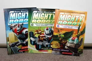 Scholastic books for boys and their Dads {Giveaway}