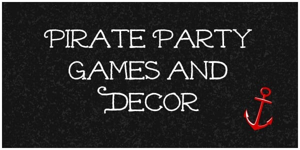 pirate games and decor