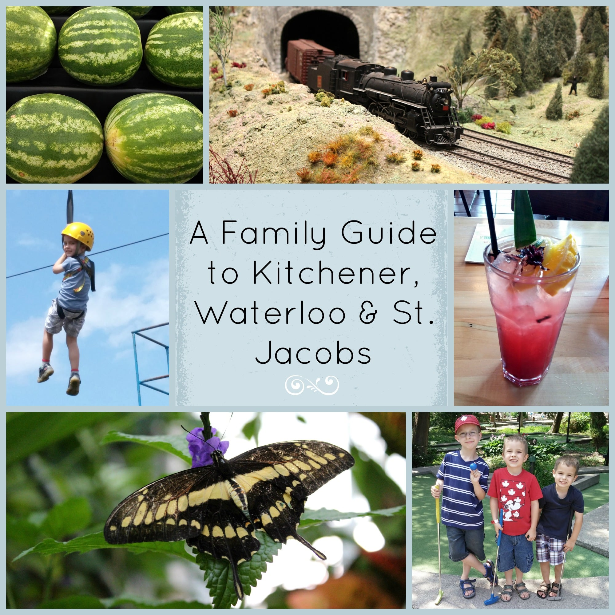 A Family Guide to a two day stay in the Waterloo Region
