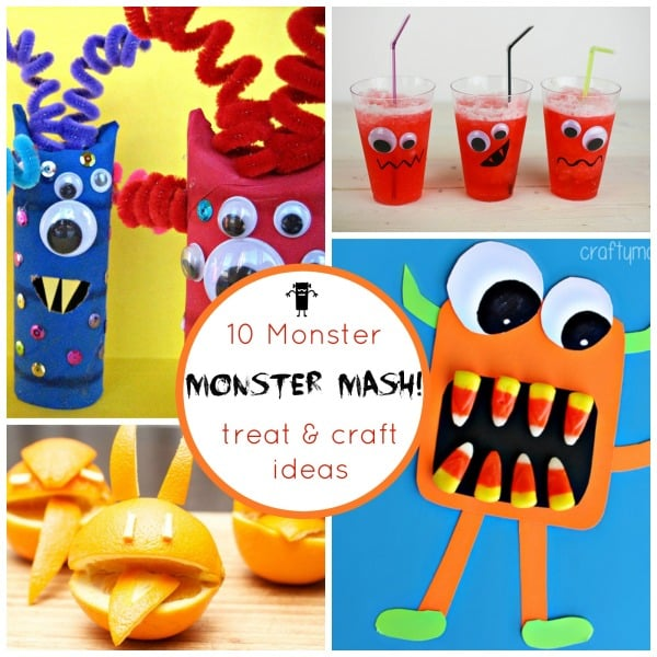 10 Monster treats and crafts to try this season