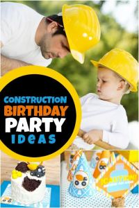 Tips for Planning a Construction Truck Themed Party Guests Will Dig