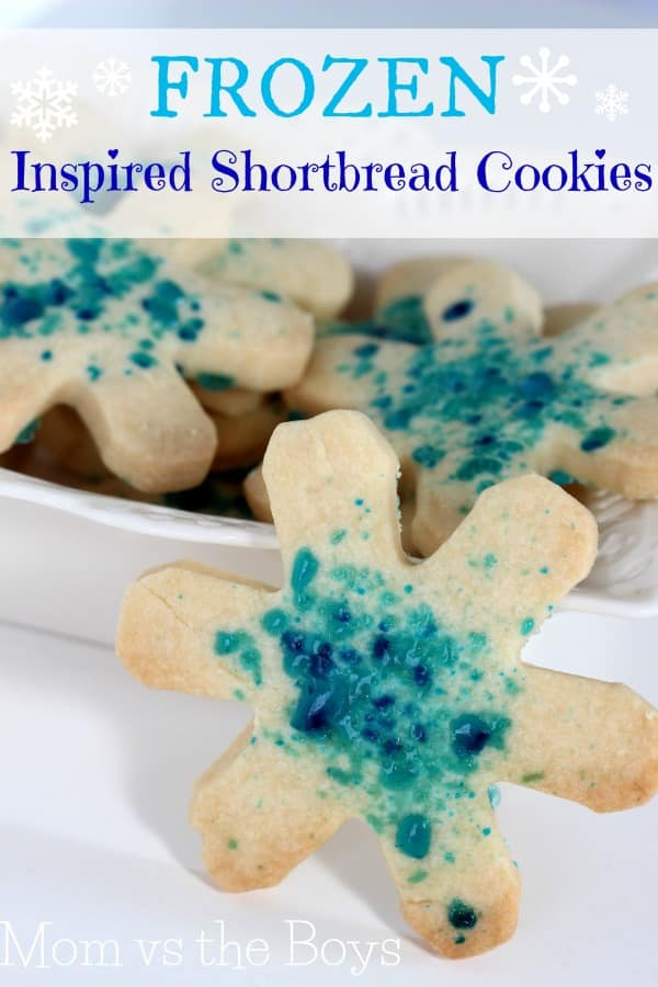 frozen inspired candy cane shortbread cookies mom vs the