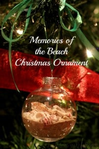 Memories of the Beach Christmas Ornament