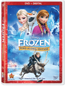 Christmas just got a whole lot cheerier with Disney's Frozen Sing-Along Edition {Giveaway}