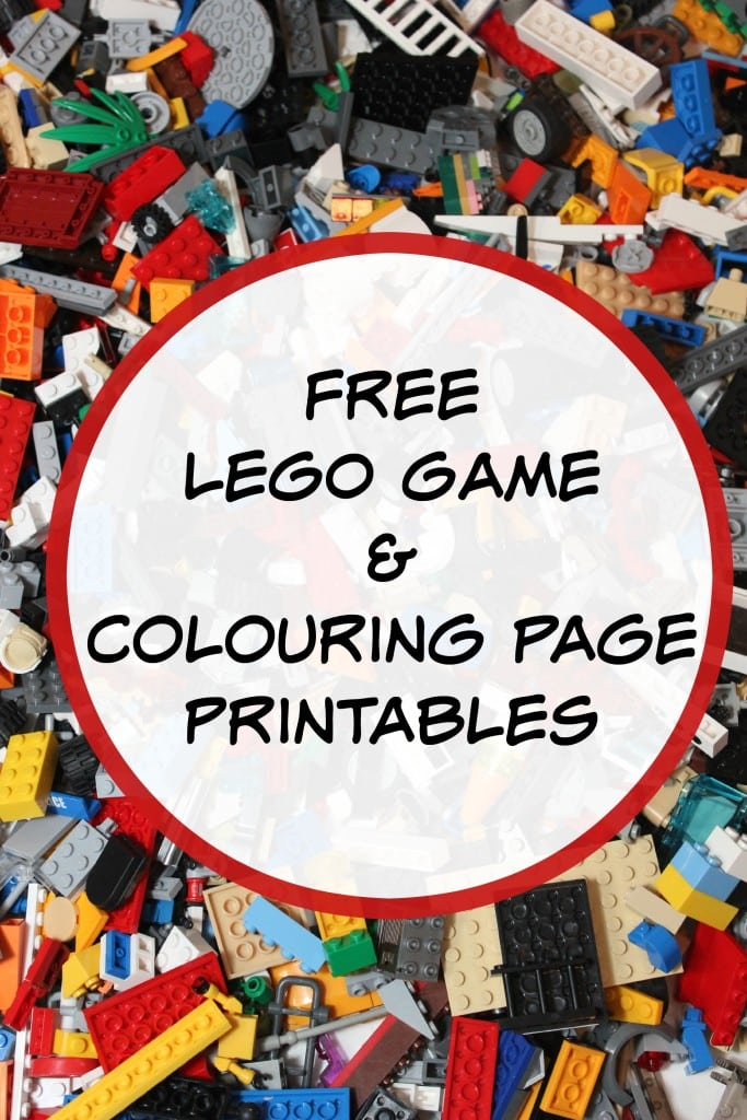 Free LEGO Game Printables - Mom vs the Boys