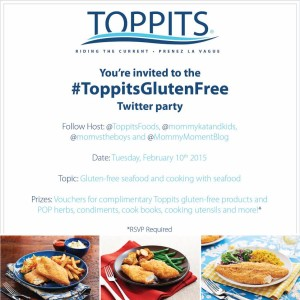 Join in the #ToppitsGlutenFree Twitter Party on February 10 at 8pm EST