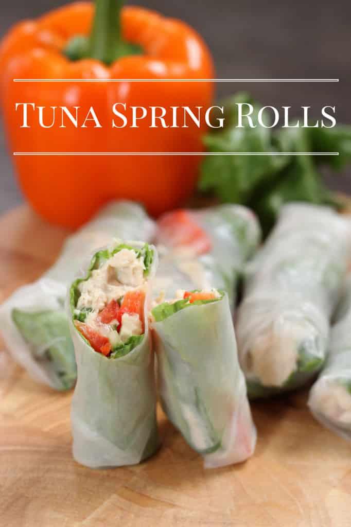 Tuna Spring Rolls