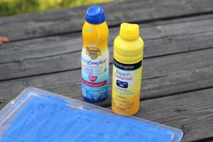 Life's a Beach with Banana Boat SunComfort Sunscreen Spray