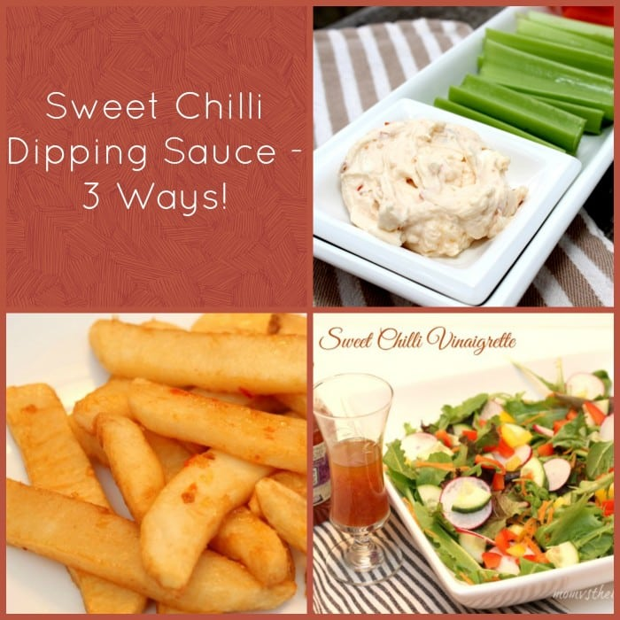 3 ways to use sweet chilli dipping sauce