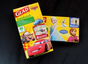 Lunchtime just got more fun with Glad & Disney!