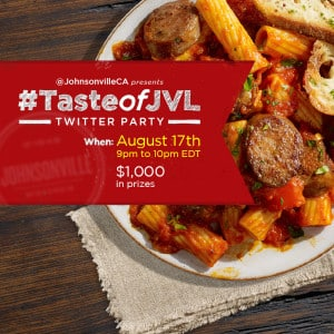 Join us for the #TasteofJVL Twitter Party with @JohnsonvilleCA