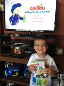 These Boys Love Caillou's Can Do Collection {Giveaway}