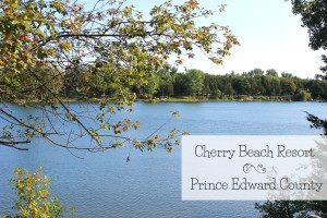 Cherry Beach Resort in Prince Edward County