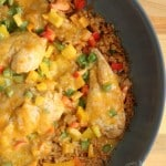 Southwestern Chicken and Rice Skillet