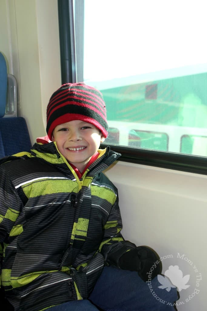 Riding the Go Train