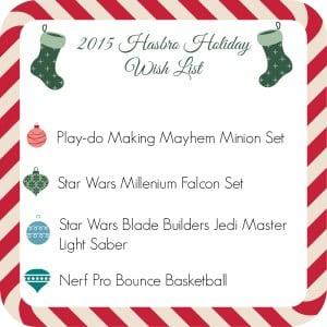 2015 Hasbro Holiday Wish List {Giveaway}
