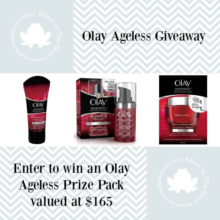 Olay giveaway prize