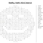 Dentist Word Search