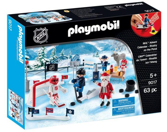 playmobil nhl rivalary on the pond advent calendar. Black Bedroom Furniture Sets. Home Design Ideas