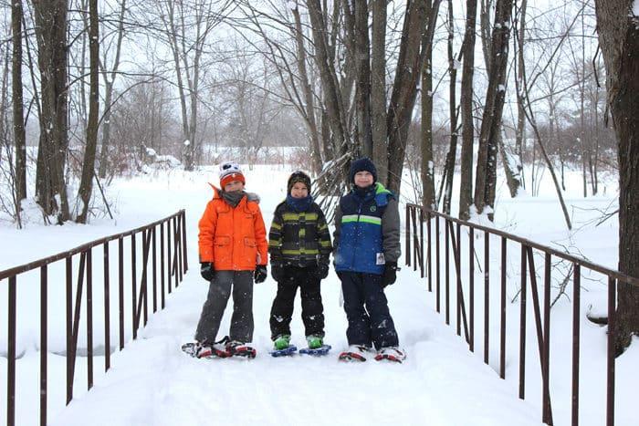 Fern Resort Snowshoeing