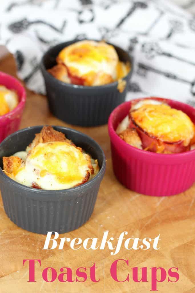 Breakfast Toast Cups - Mom vs the Boys