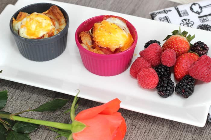 Breakfast Toast Cups with Fruit