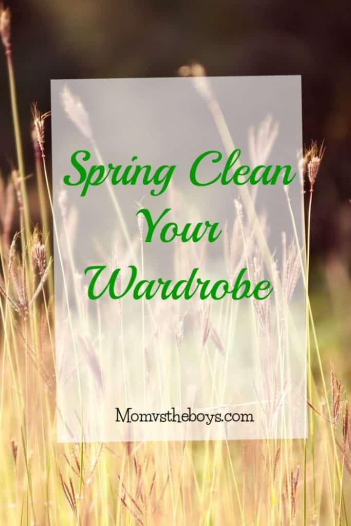 Spring Clean Your Wardrobe